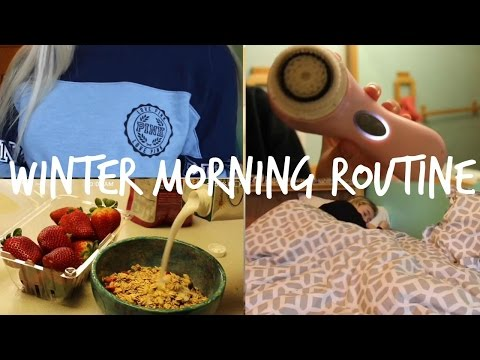 Winter School Morning Routine 2017 | 9th Grade | High School | Christine Bailey