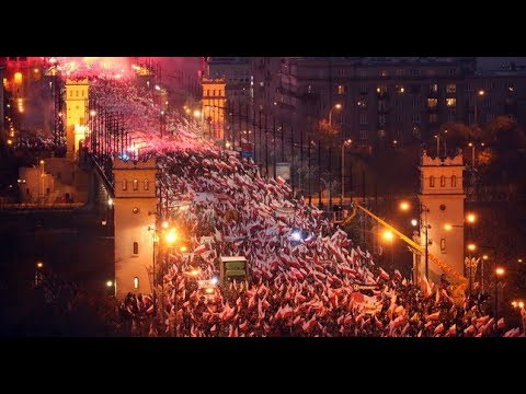 Poland's Independence Day March 2018: God, Honor, and Country!!!
