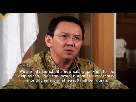 The future of Jakarta begins with clean government