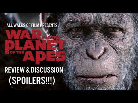 War for the Planet of the Apes: Review + Discussion (SPOILERS!!!)