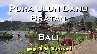 Pura Ulun Danu Bratan (Bali) Vacation Travel Video Guide jop TV Travel