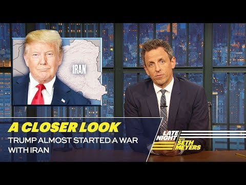 Trump Almost Started a War with Iran: A Closer Look