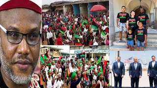 Watch how Biafran children took over the streets of Washington DC/Onisha/Aba etc to demand 4 freedom