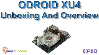oDROID XU4 Unboxing And Overview 8 Core Single Board Computer
