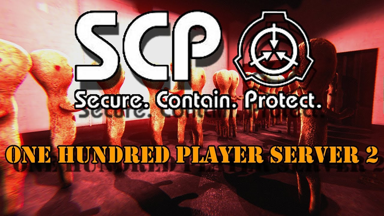 SCP Secret Laboratory- One Hundred Player Server Event pt 2