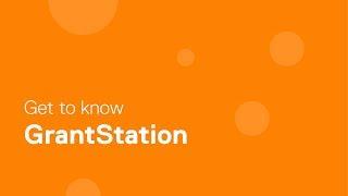 Webinar - Get to Know GrantStation - 2017-05-09