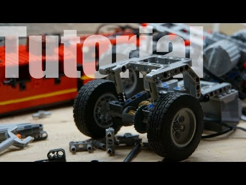 Lego Technic Compact Live Axle Suspension With Instructions Youtube