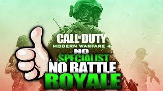 Modern Warfare 4 No Specialists or Battle Royale? (MW4 Rumors)