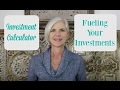 Investment Calculator | 2. Fueling Your Investments