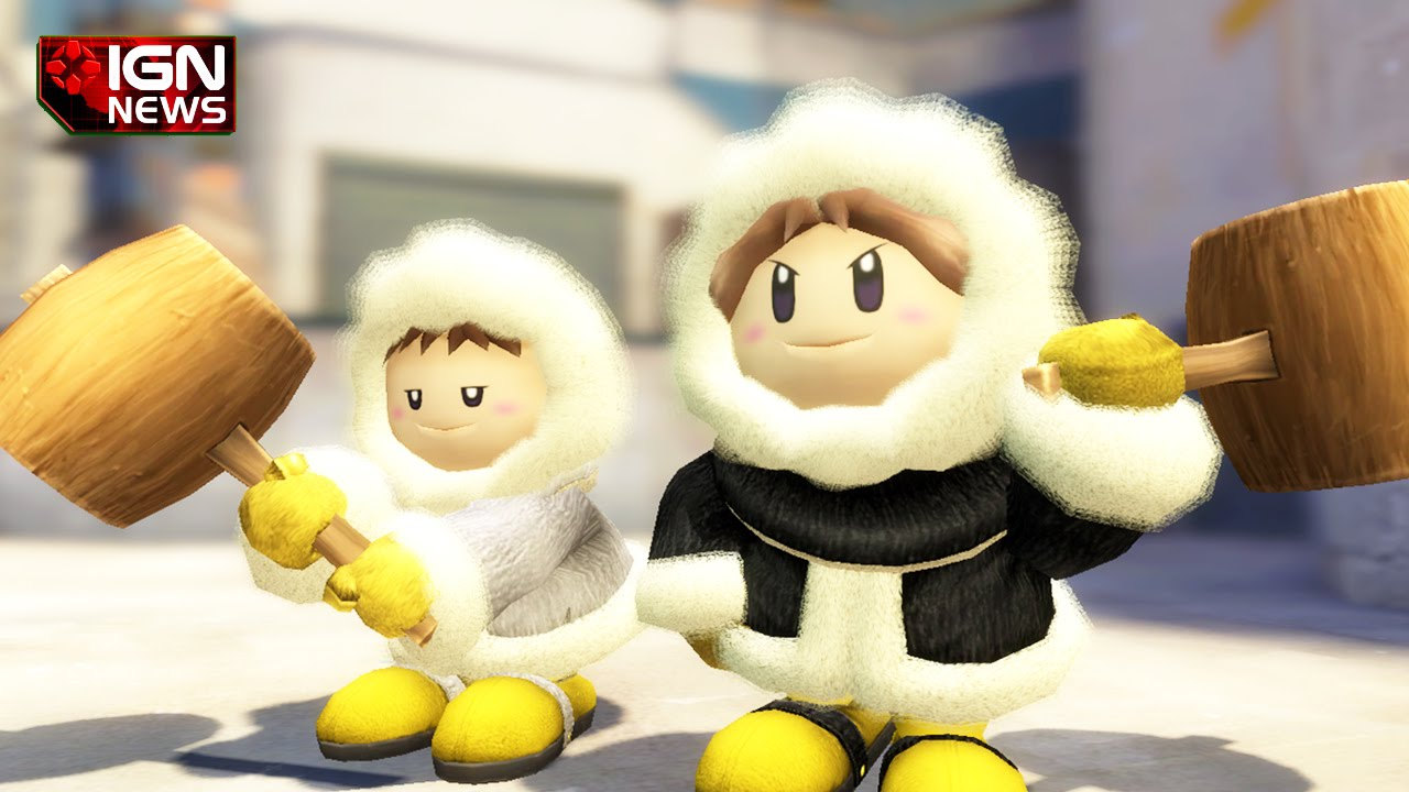The Ice Climbers Arent In Smash Bros IGN News YouTube