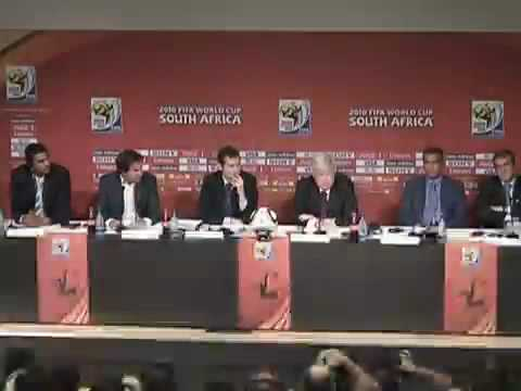 Download 2014 Fifa World Cup Brazil Presentation For The New Emblem 08 07 2010 Spain España Holland