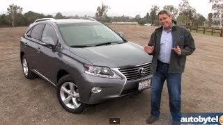 2014 Lexus RX 350 Test Drive Video Review