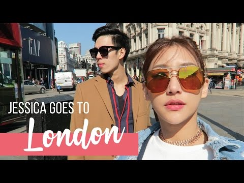 Jessica Goes To London | Travel Vlog Part 1♡ 探索倫敦