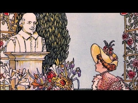 """Flowers from Shakespeare's Garden"" Walter Crane, 1906 - Pre-Raphaelite Brotherhood"