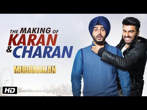 Making of Karan-Charan | Mubarakan | Arjun Kapoor | Anees Bazmee