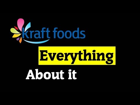 Kraft Foods - Everything About it