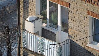 Вот это зум и холодильник на балконе в Перми Zoom