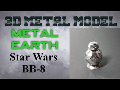 Metal Earth Build - Star Wars BB-8