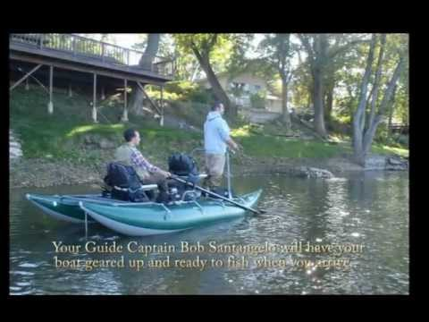 Kankakee River Valley Guide Service Pontoon Float Boat 2012