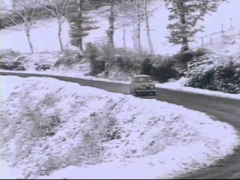 1960's Mini Cooper Monte Carlo Rally Highlights