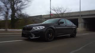 2018 BMW F90 M5 World's First Vinyl Wrap by ONEighty & NDVinyls