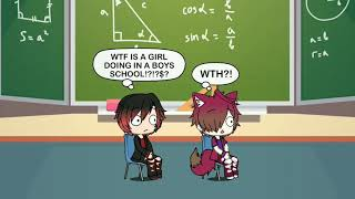 A girl in a all boys school part 1: new student