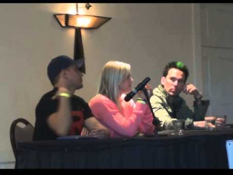 ACC Power Rangers Jason David Frank, Catherine Sutherland, and Steve Cardenas