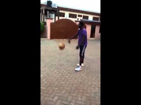 Evans Appiah 15year kid slam at my house in Ghana.