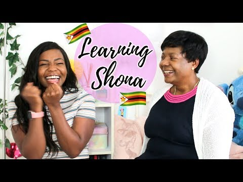 Learning Shona with my Mum 🇿🇼
