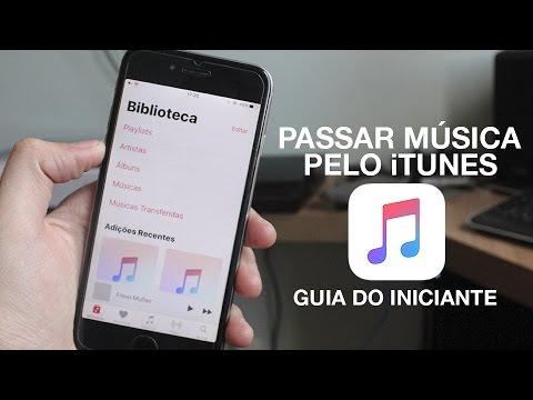 COMO PASSAR MÚSICAS DO COMPUTADOR PARA SEU iPHONE