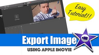 iMovie Tutorial 2015 - Export an Image from Video in iMovie