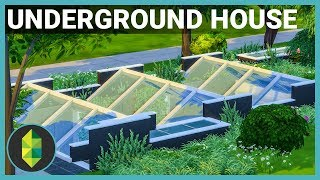 UNDERGROUND HOUSE - The Sims 4 House Build (Get Together ONLY)