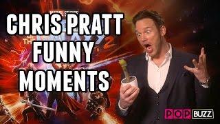 Chris Pratt Funny Moments Guardians of the Galaxy Vol. 2