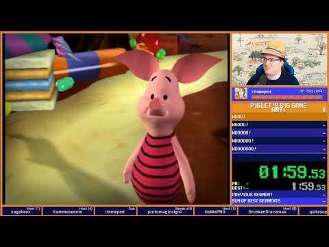 Piglet's Unfortunate Game