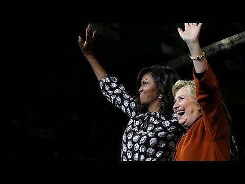 Hillary Clinton e Michelle Obama, per la prima volta insieme - world