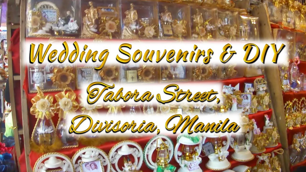 Wedding souvenir giveaways tabora street divisoria manila youtube youtube premium solutioingenieria Image collections