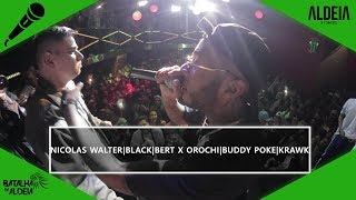 Orochi, Buddy Poke e Krawk x Nicolas Walter, Bert e Black |  SEGUNDA FASE | BDA 2 ANOS