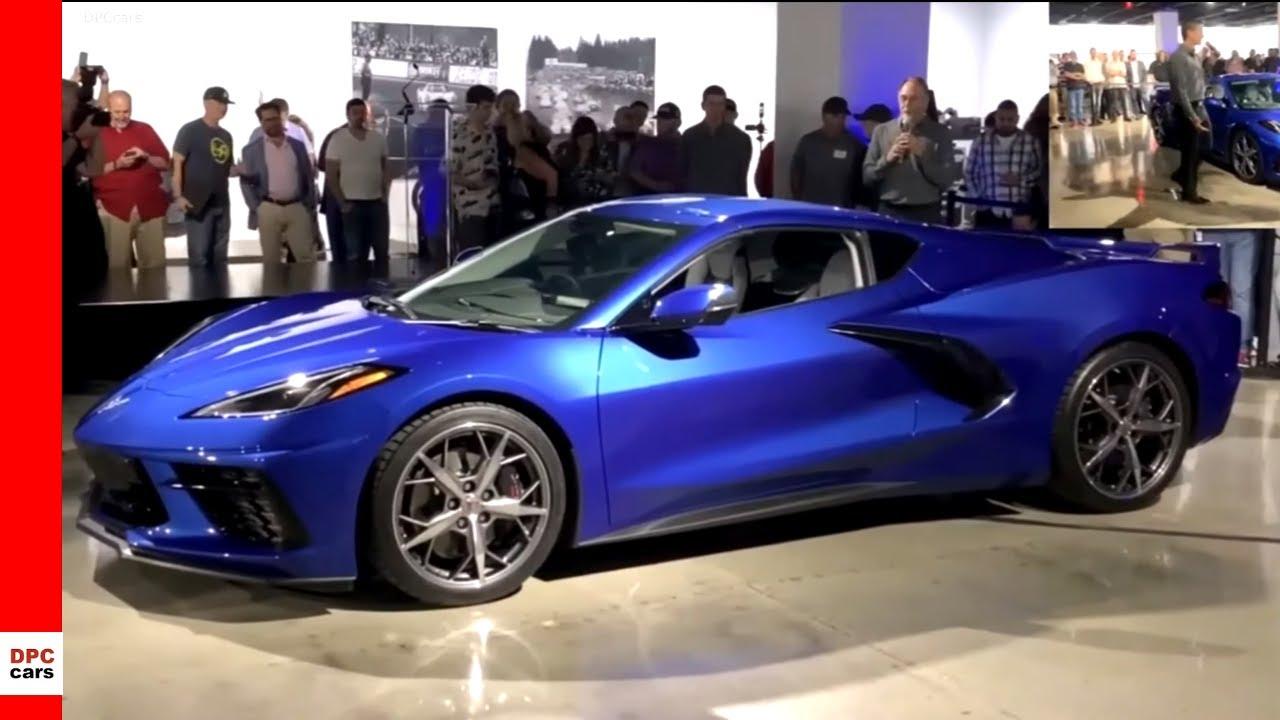 Elkhart Lake Blue New 2020 Corvette - YouTube