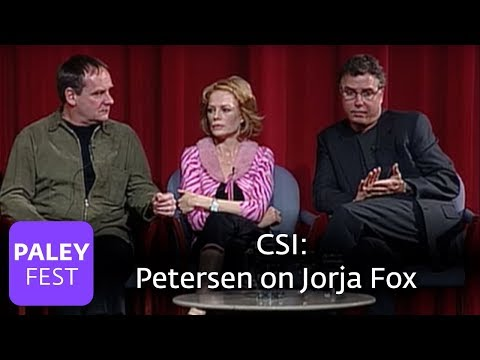 CSI  Petersen on Jorja Fox Paley Center