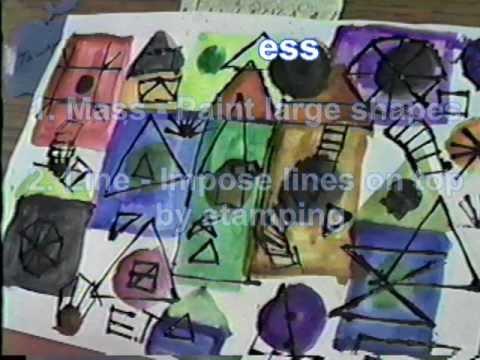Edge Printing by Robert Beeching, Science Academy Software, Art Education Series