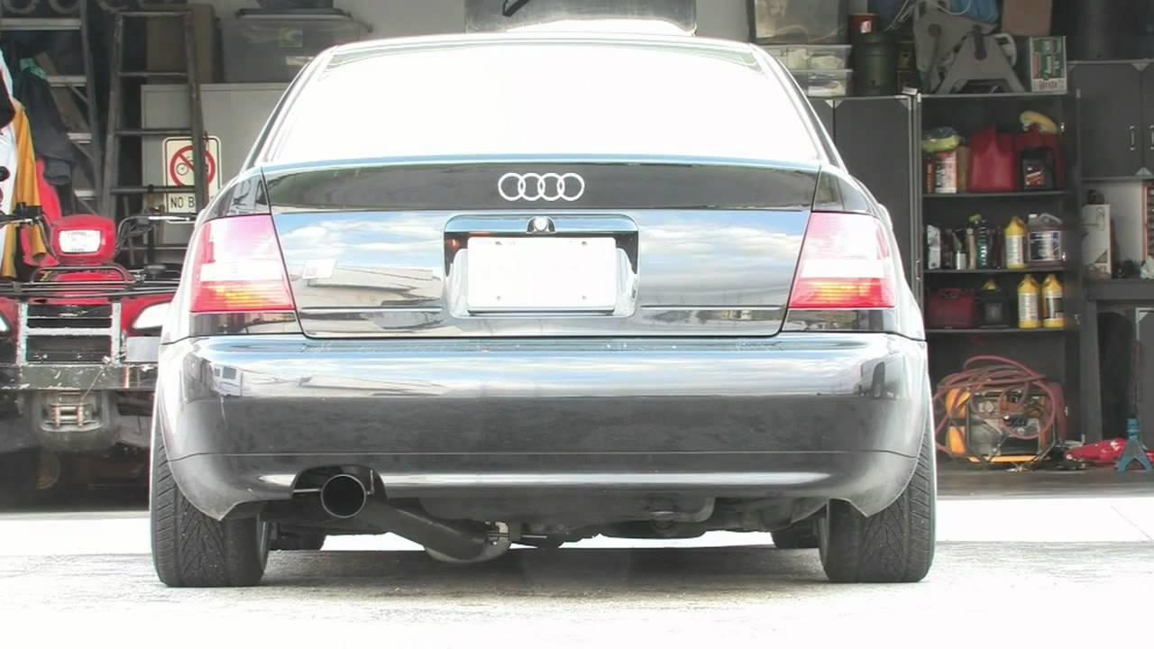 034motorsport B5 Audi S4 3 5 Quot Single Muffler Exhaust