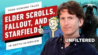 Todd Howard Talks Starfield, Elder Scrolls 6, Fallout 76, Terminator, and More! - IGN Unfiltered #43