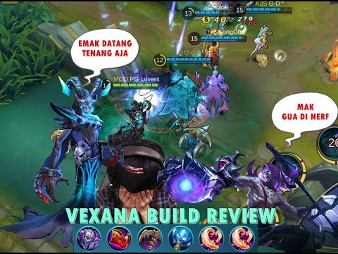 New Hero Vexana Build Review – Emak Nya Si Moskov – Mobile Legends
