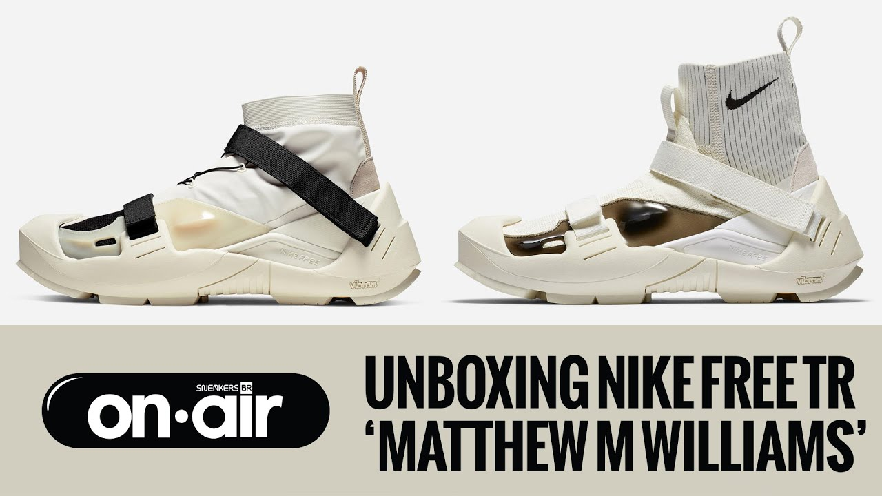 Unboxing Nike Free TR 'Matthew M