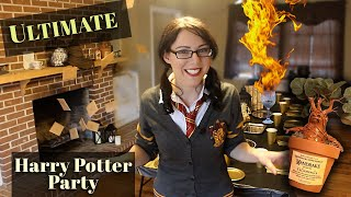 The ULTIMATE Harry Potter Party Ideas