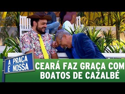 Ceará faz graça com boatos da vida de Carlos Alberto | A Praça É Nossa (16/11/17)