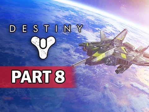 Destiny Walkthrough Part 8 - Valkrie Jump Ship & Frontier Shell Ghost  Bonus DLC