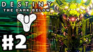 Destiny: The Dark Below - Gameplay Walkthrough Part 2 - The Undying Mind! Mars! (PS4, Xbox One)
