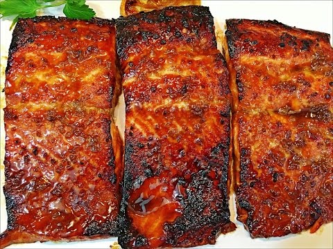 Honey Glazed Salmon Recipe -- Easy And Delicious Salmon Recipe