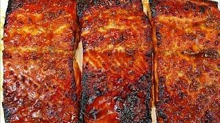 Honey glazed salmon recipe -- Easy and delicious salmon recipe